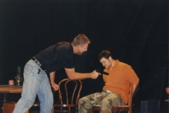Mike Gritus as Slater and Joseph Owen as Smith